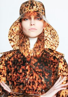 """Typhoon"" is the Pre-Fall 2013 collection by French design house Wanda Nylon.Rain wear"