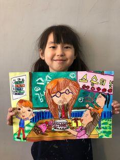 Painting For Kids, Art For Kids, Art Lesson Plans, Art Education, Art Lessons, Cool Art, Lunch Box, Watercolor, Teaching