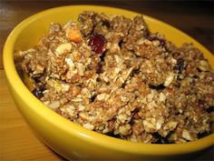okay, best dehydrator granola E-V-E-R! (better than the first one I pinned, fyi)