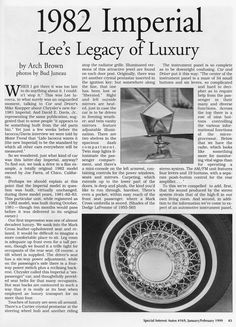 Lee Iacocca's legacy