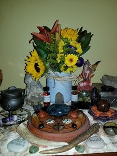 My persoinal fall altar. 2017