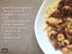 fetuccini ingredientes
