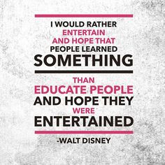 Walt was an amazing man.