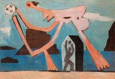 Picasso, Joueurs de ballon sur la plage, 1928.