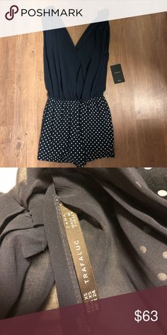 NWT Zara Romper XS NWT Zara Romper Size XS. Trying to clean out my closet, no trade requests please! Zara Dresses Strapless