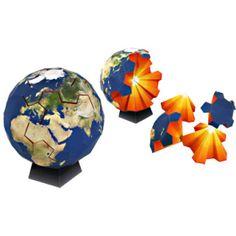 Globe Puzzle - Toys - Paper Craft - Canon CREATIVE PARK