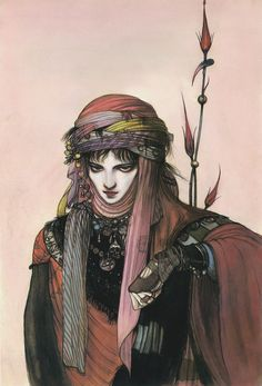 Yoshitaka Amano...One of my all time favorite artists.
