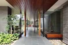 Diminished House was completed by Wahana Cipta Selaras and is located in South Jakarta, Indonesia