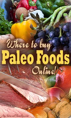 Where to Buy Paleo Foods Online
