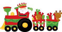 Navidad by Ckren Christmas Yard Art, Christmas Train, Christmas Door Decorations, Christmas Makes, Noel Christmas, Christmas 2019, Christmas Crafts, Xmas, Christmas Templates