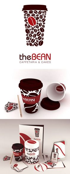Want to meet for coffee at the Bean #identity #packaging #branding PD