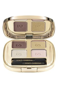 Gorgeous Dolce & Gabbana color quad.