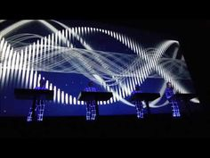 Kraftwerk - Live @ Sony Centre in Toronto 2014 (Full Show HD) - YouTube