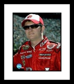 Dale Earnhardt Jr NASCAR Auto Racing Framed 8x10 Photograph Posing by NASCAR. $41.29. NASCAR Memorabilia & Framed NASCAR Photos & Plaques and Collages. Dale Earnhardt Jr. is a stock car driver and son of NASCAR legend Dale Earnhardt. The younger Earnhardt was twice champion of the Busch Racing Series, then moved up to the Winston Cup circuit for his first full season on in 2000. He had two Winston Cup victories that year, including his first at the Coca Cola 600 in Apri...
