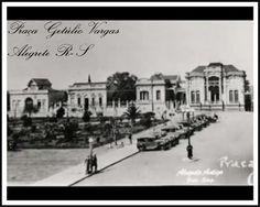 Alegrete antigo- praça Getúlio Vargas