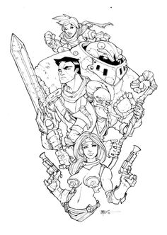 Battle Chasers by Harpokrates