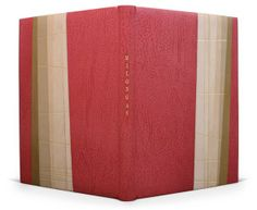 Society of Bookbinders 2009 Harmatan Award for Forwarding Milongas by Jorge Luis Borges Full leather with a design in five sections. Edges g...