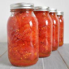 Canning Tomatoes - www.ohlardy.com