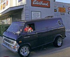 Old school Ford van