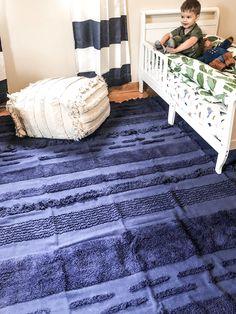 Lorena Canals Rugs, Machine Washable Rugs, Boy Room, Nursery Decor, Calm, Fresh, Blue, Home Decor, Rugs