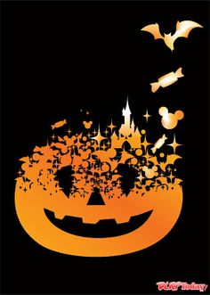 Disney Halloween... need to put this on a shirt if/when I make it to Mickey's Not So Scary Halloween Party!