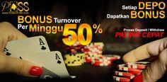 PokerAs88 - Bonus TurnOver 0,5%   Kabar Berita Terkini, Bola News, Informasi Promo Terkini, Kabar Dunia, Cerpen, Cerita Kita, Info Bank, Poker Online, Capsa Susun, Domino QQ, Bandar Ceme, Tournament PokerPk.As88 News