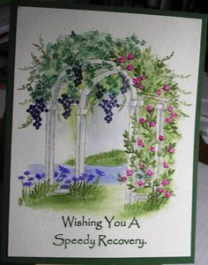 Watercolor Arch by Nan Cee's - Cards and Paper Crafts at Splitcoaststampers
