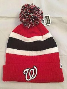 5f3ea9f770e MLB Washington Nationals Adult  47 Brand Winter Hat www.mancavesonline.com   mlbcom