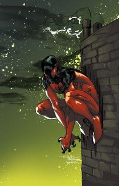 Guile Scarlet spider-man by JoeyVazquez on deviantART