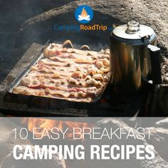What's your favorite campfire breakfast? Check out our yummy recipes... great for hiking, camping, RVing or even, you know, trying out at home!