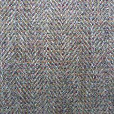 Herringbone tweed inspired by the colours of Skye's heathland. £58/m