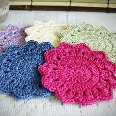 Free Crochet Coaster Patterns | free crochet coaster pattern