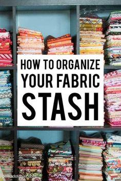 How to Organize your Fabric Stash | eBay