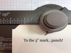 file folder card using the Envelope Punch Board