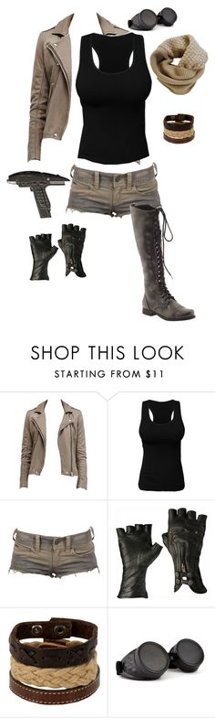 """""""Junk Rat"""" by gone-girl ❤ liked on Polyvore featuring Billabong, Aéropostale, Steve Madden, GAS Jeans and Humble Chic"""