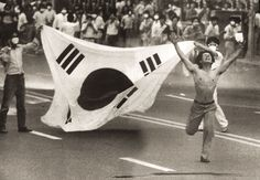 Seoul Stories: Han Kang Violence and Candlelight (Essay on Han Kang's book Human Acts) Gwangju, Han Kang, Adolf Dassler, 1936 Olympics, Jesse Owens, Contemporary History, Korean People, American Gods, Historical Pictures