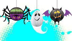 Halloween Kinderparty Partydeko  #Halloweedeko #kinderparty