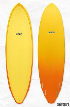 Siren® Rocket Quad Standup Paddle Board: 9' via SirenSirenSiren.com $1356.00 #SUP #standup #paddle
