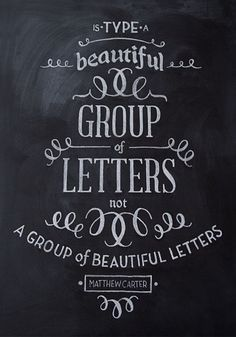 Group of letters...