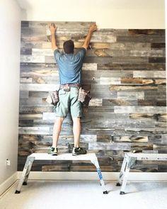 Stikwood Adhesive Wood Paneling Set) Stikwood Adhesive Wood Paneling Set),House remodelling holzwand verkleidung holz decor ideas furniture wall decor decor home decor