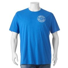 """Big & Tall SONOMA Goods for Life™ """"Endless Weekends"""" Tee, Men's, Size: Xl Tall, Blue Other"""