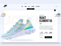 Nike e-commerce concept The post Nike e-commerce concept appeared first on Design. Online Web Design, Ecommerce Website Design, Homepage Design, Website Design Inspiration, Website Design Layout, Web Ui Design, Web Design Trends, E Commerce, Wireframe