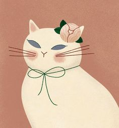 Cat illustration by Clare Owen