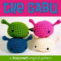 "Free crochet pattern: ""The Gabu"" Free Amigurumi Doll Pattern - http://www.roxycraft.com/"