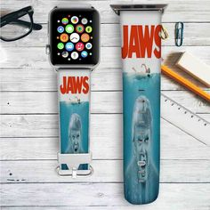Donald Trump Jaws Custom Apple Watch Band Leather Strap Wrist Band Replacement 38mm 42mm