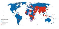 Countries that permit and forbid multiple citizenship