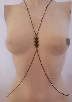 Hey, I found this really awesome Etsy listing at https://www.etsy.com/listing/102028321/chevron-body-harness-chain-necklace