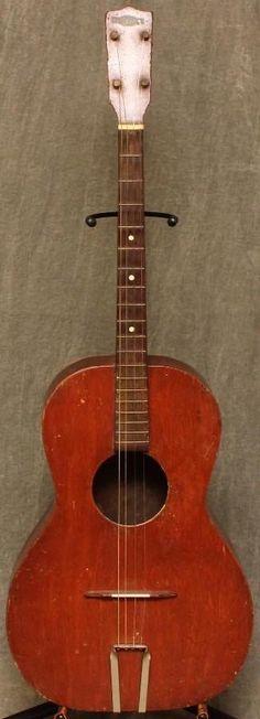 1930's Crescent Tenor Guitar --- https://www.pinterest.com/lardyfatboy/