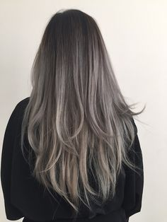 dusty grey hair - Google Search