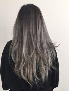 dusty grey hair - Google Search